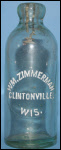 ClintonvilleAntiqueWisconsinHutchBottles