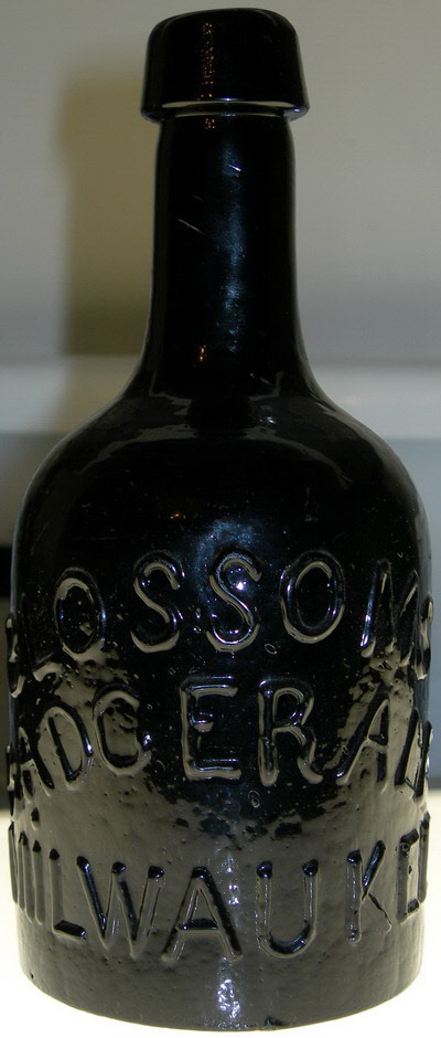 The Blossoms Badger Ale mrbottles's Holy Grail antique Wisconsin Bottle