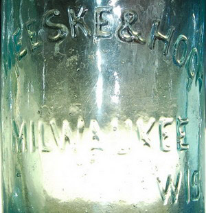 Meeske & Hock Antique Milwaukee Soda bottle