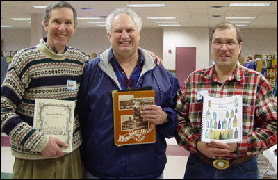 Roger Peters, Wayne Kroll and Dan Gross are Wisconsin Bottle Collectors and known writers on the subject of bottle collecting